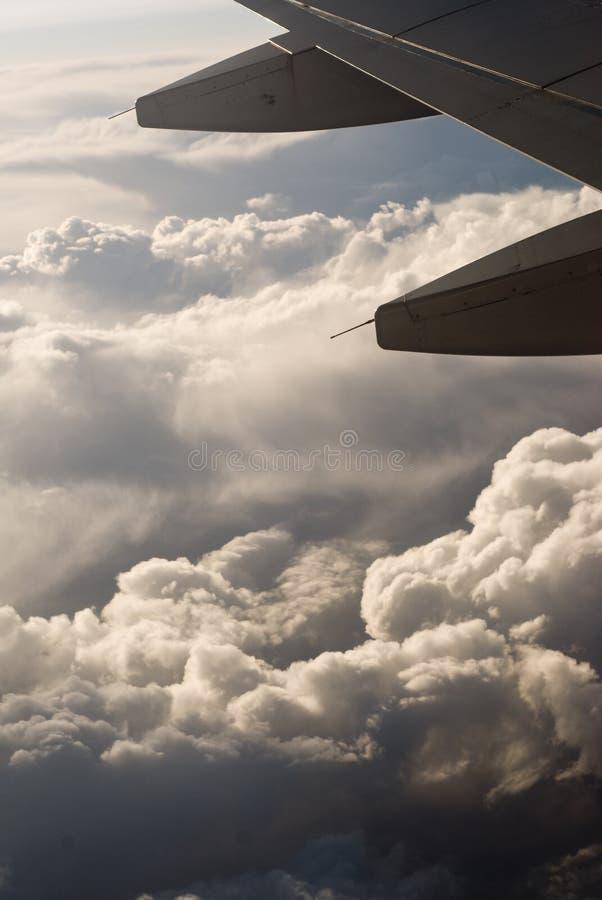 Borda de arrasto da asa de aviões fotos de stock