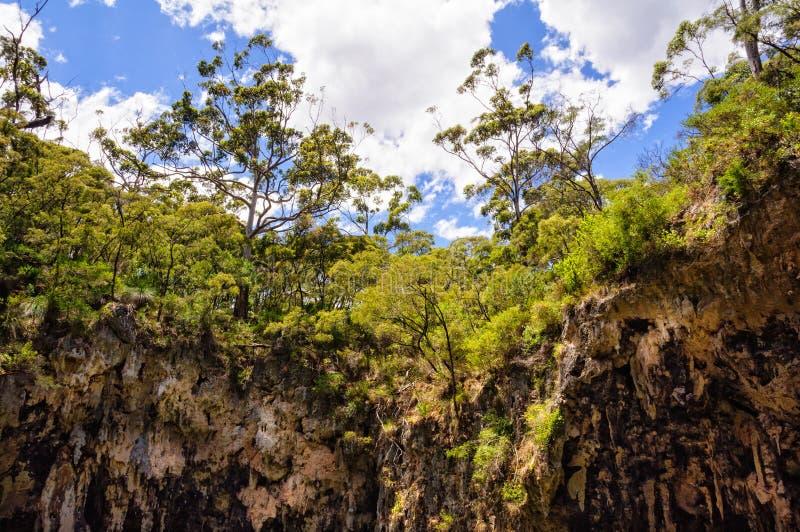 Borda em torno da caverna da joia - Deepdene fotografia de stock