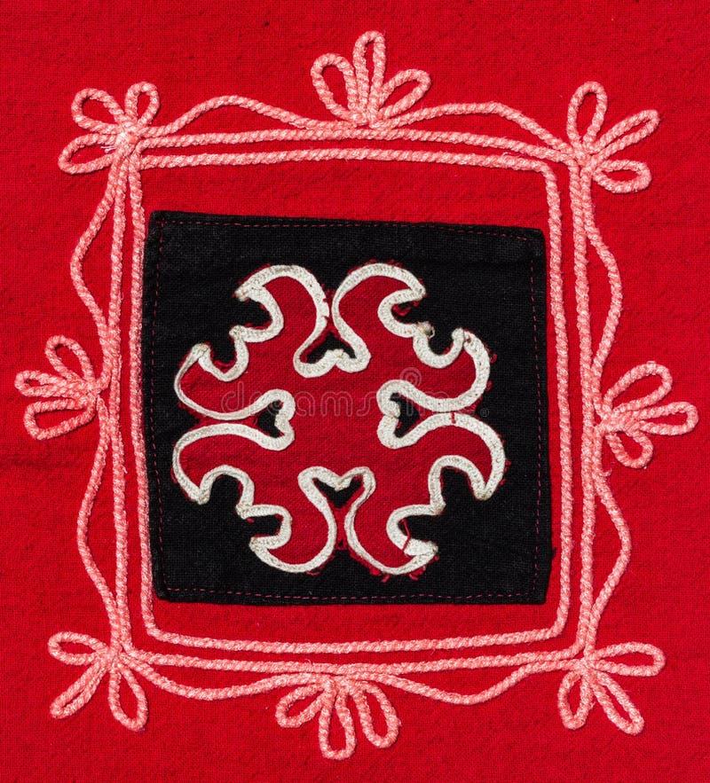 Bordado de la tribu fotografía de archivo libre de regalías