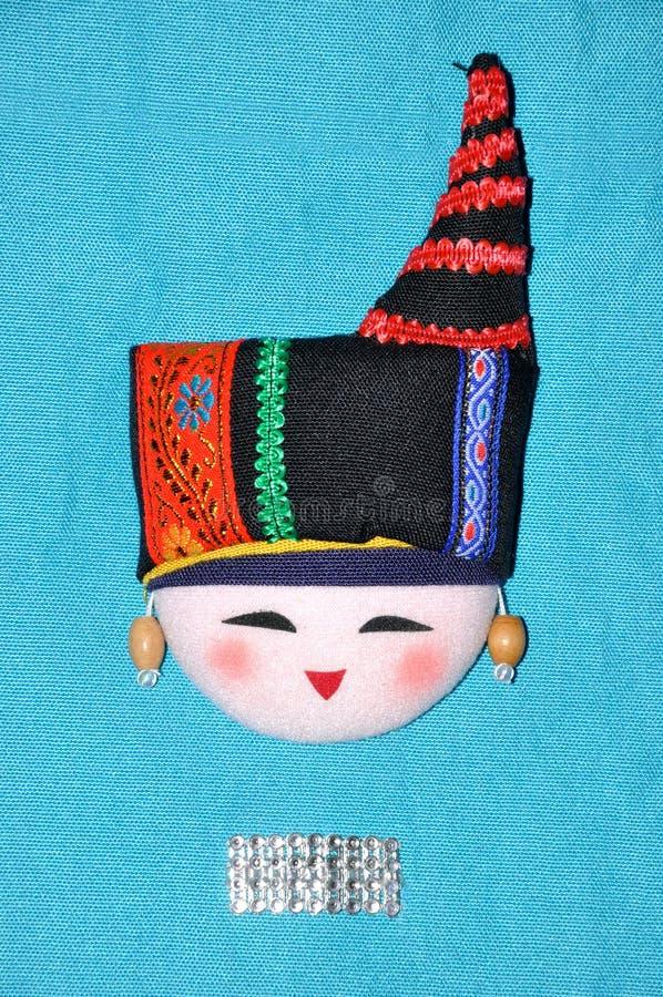 Bordado do Finery do estilo chinês da minoria