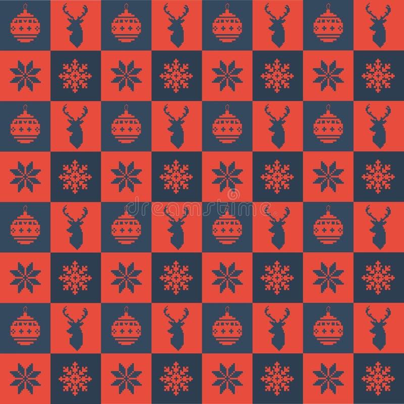 Bordado do Natal imagens de stock royalty free