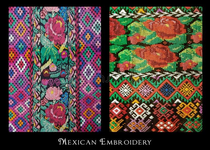Bordado mexicano foto de archivo