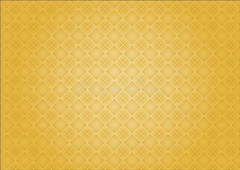 Borde amarillo del fondo imagen de archivo libre de regalías