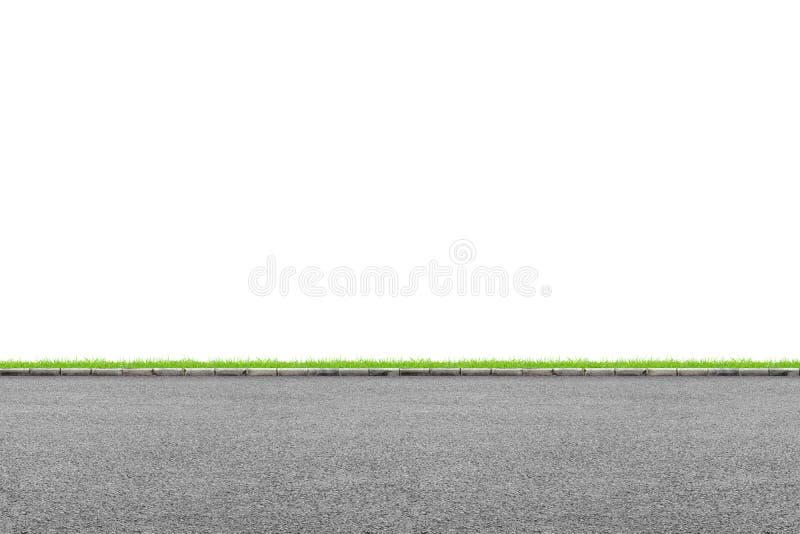 Borde de la carretera en blanco imagen de archivo libre de regalías