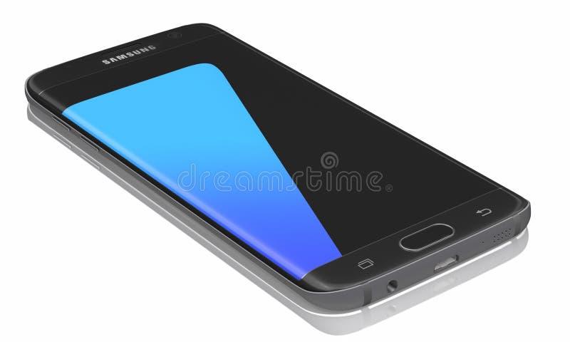 Borde de la galaxia s7 de Samsung foto de archivo libre de regalías