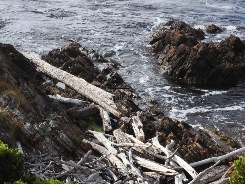 Borde del mundo, Tasmania imagen de archivo