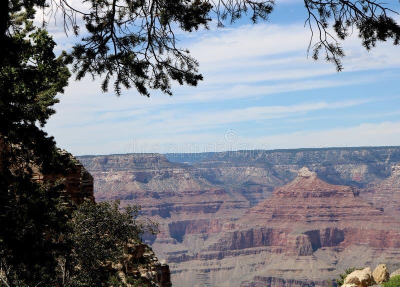 Borde del sur de Grand Canyon imágenes de archivo libres de regalías