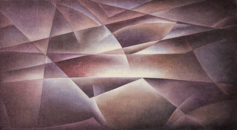 Bordeaux géométrique de formes illustration de vecteur