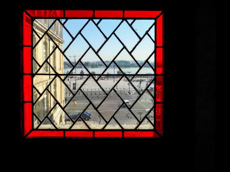 BORDEAUX, GIRONDE/FRANCE - 21 SETTEMBRE: Vista da Porte Cailha immagini stock
