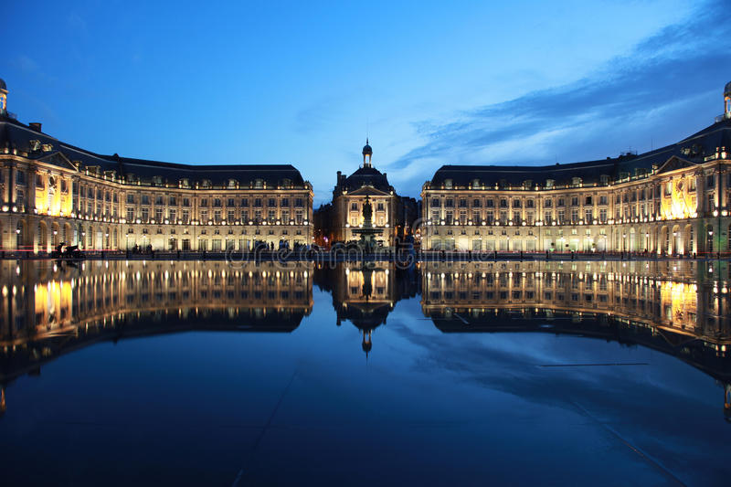 Download Bordeaux Place De La Bourse Stock Photo - Image: 20424956