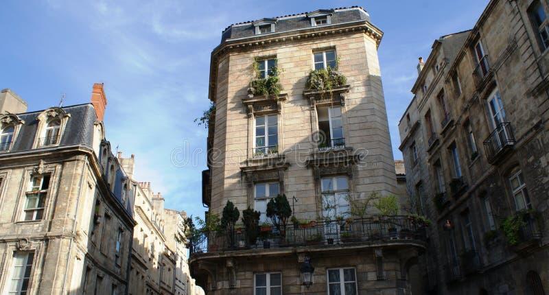 Bordeaux stad, gotisk domkyrka i Frankrike royaltyfria bilder