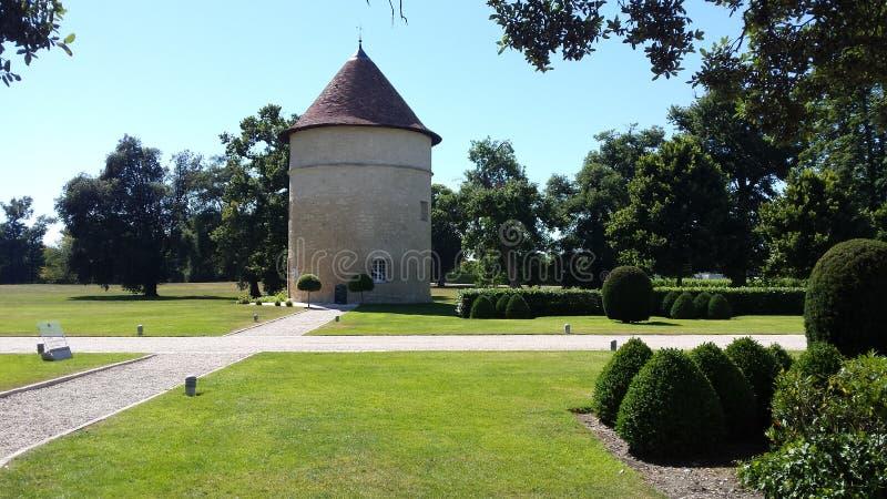Bordeauxchateau lizenzfreie stockbilder