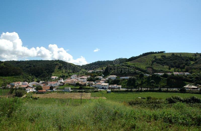 Bordeira Dorf lizenzfreies stockbild