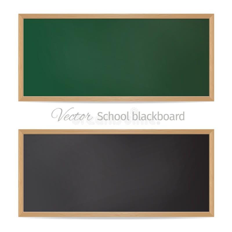 borden Zwarte en groen vector illustratie
