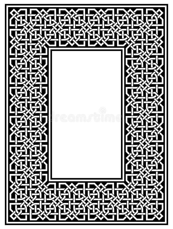 Download Border stock vector. Image of banner, rectangle, geometric - 27963596