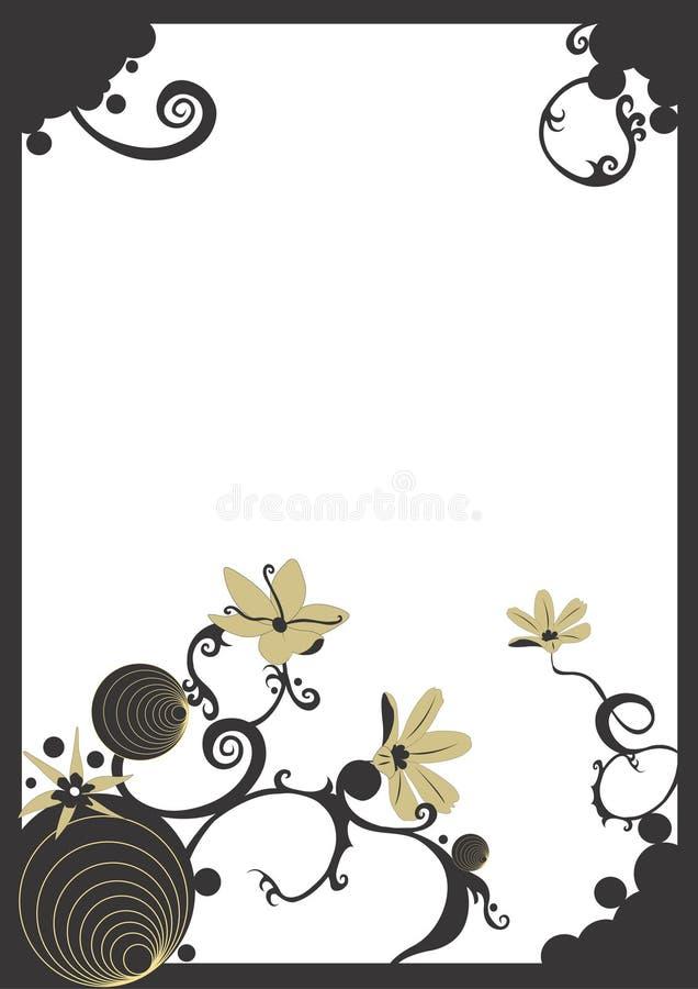 Download Border stock illustration. Image of flowers, graphic, illustration - 516892