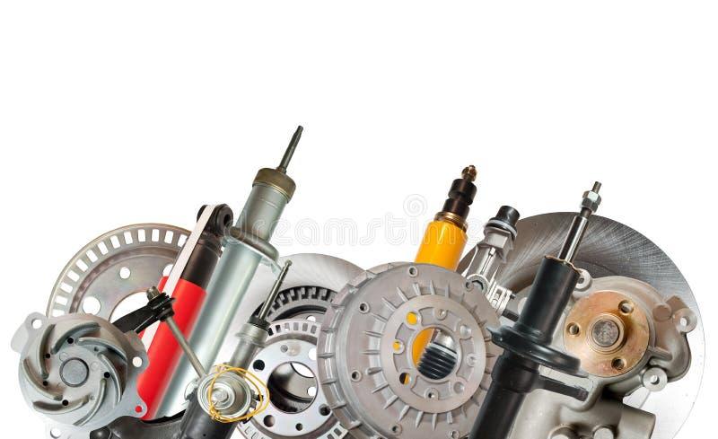 Download Border of car parts stock image. Image of cutouts, cutout - 16979765