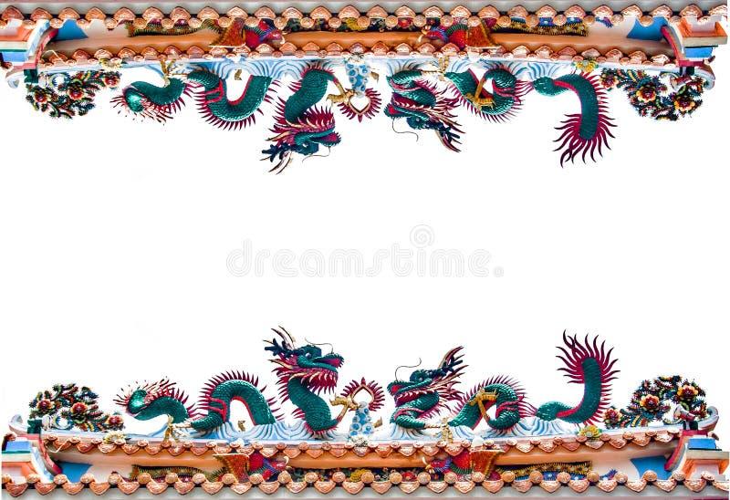 Border Dragon Architexture Figure Stock Image - Image of eastern ...