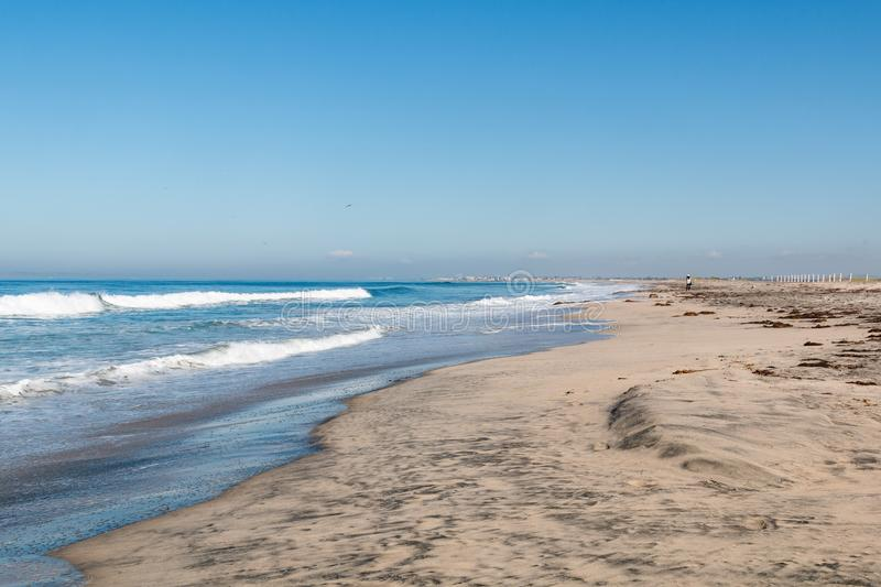 Border Field State Park in San Diego, California stock photography