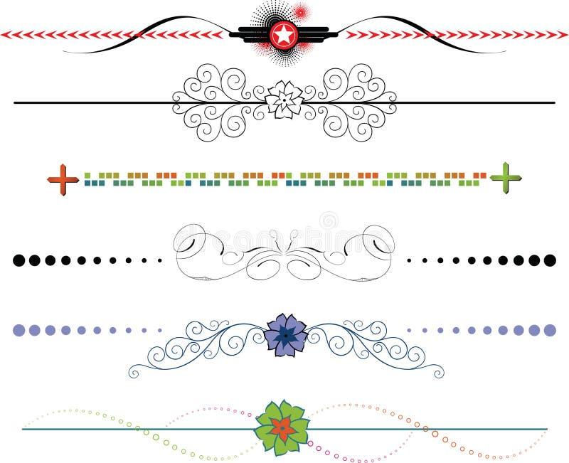 Download Border Frame Design Elements Stock Illustration - Image: 6492310
