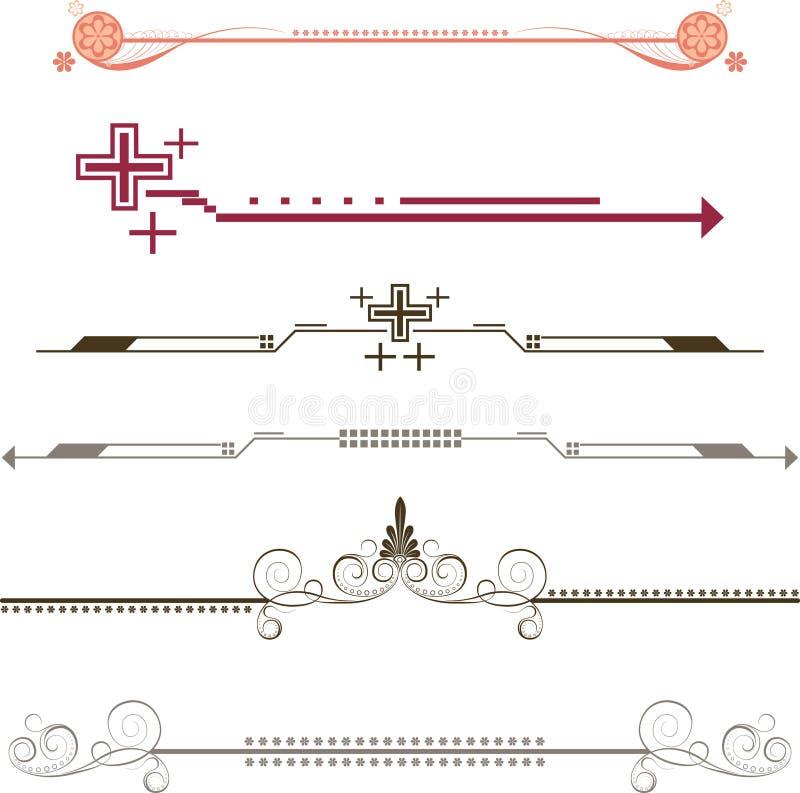 Download Border Frame Design Elements Stock Illustration - Image: 6492322