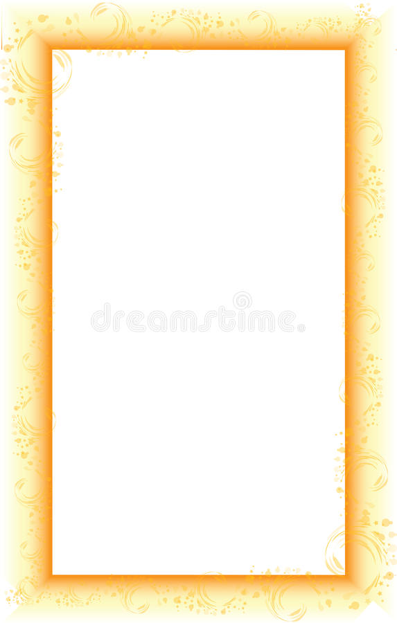 Border With Gradient Royalty Free Stock Photo