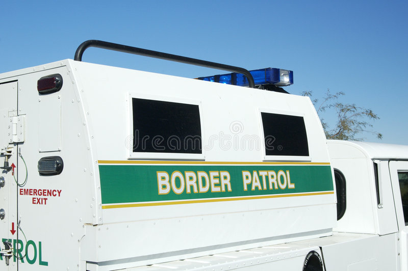 Border Patrol royalty free stock photography