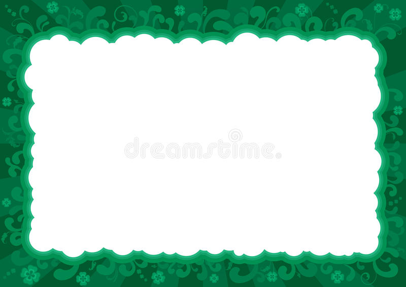 Download Border  For St. Patricks Day Stock Vector - Illustration: 29321747