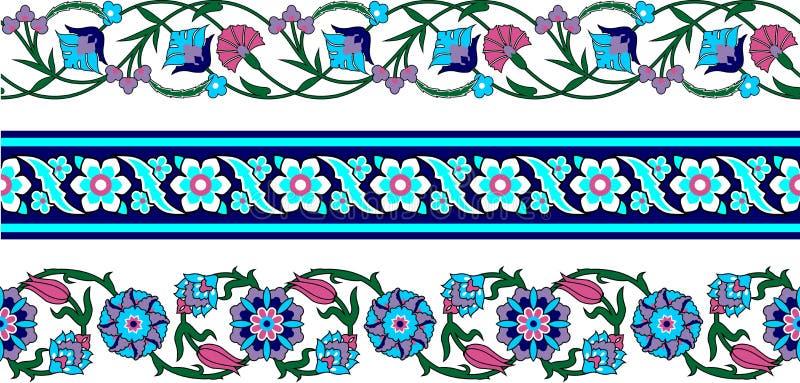 Border5 illustrazione di stock