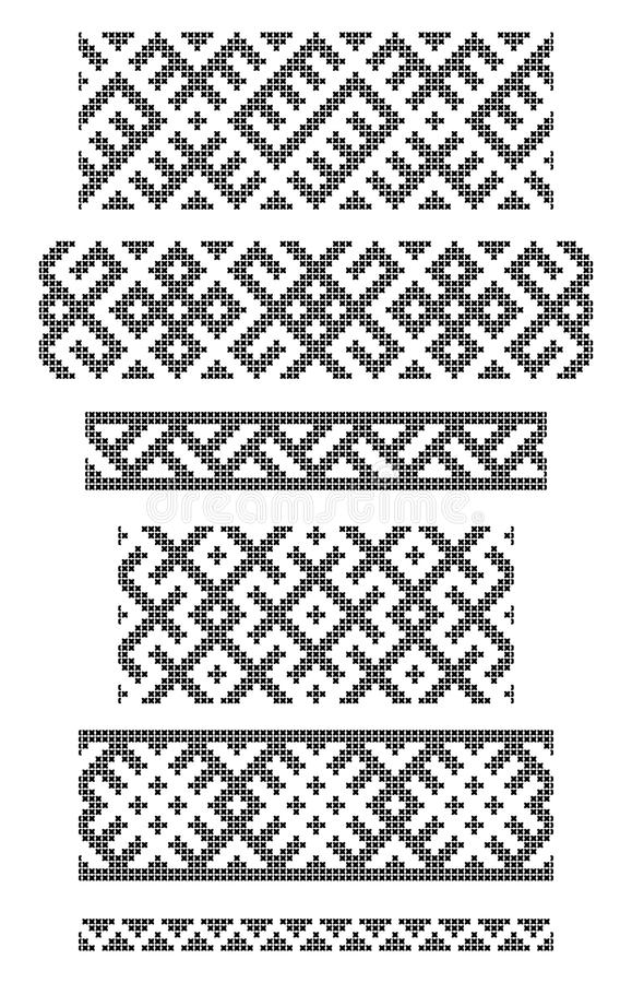 Download Borders, Embroidery Stock Image - Image: 28099191