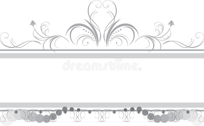 Borders with ornament vector illustration