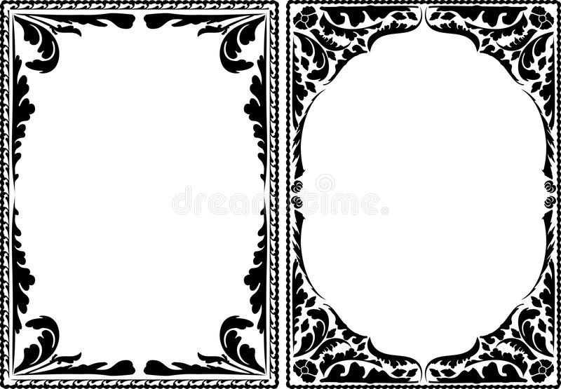Download Borders plant stock vector. Image of silhouette, frame - 22716080
