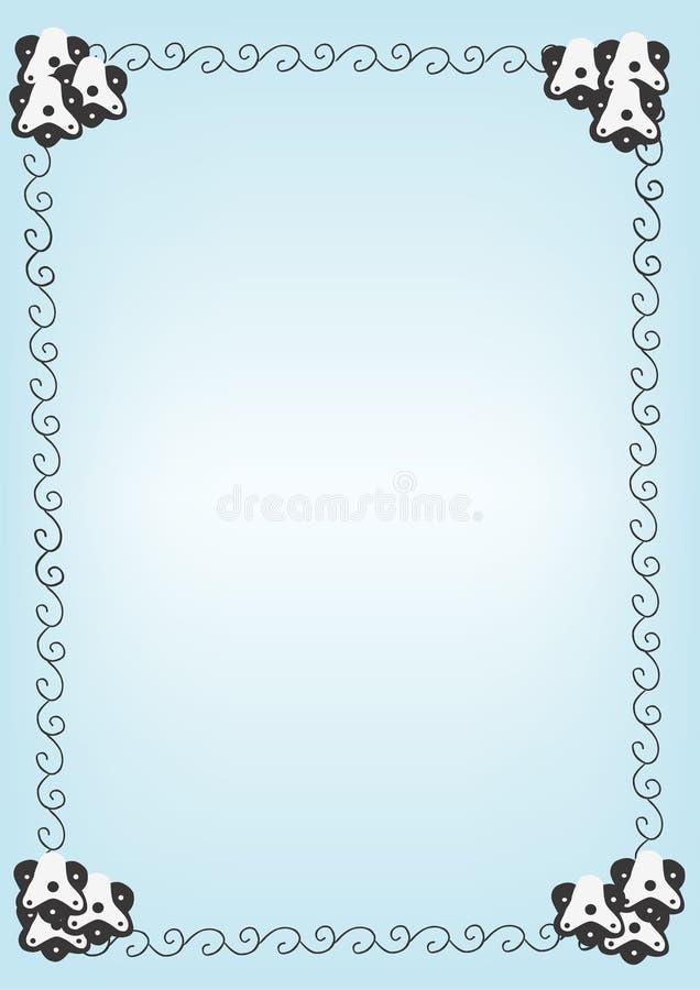Bordi illustrazione vettoriale