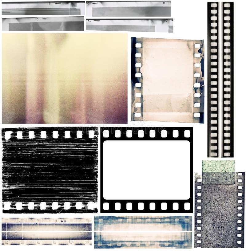 Bordi della pellicola illustrazione vettoriale