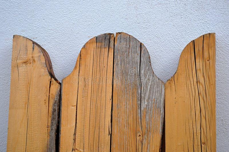 Bordi di legno arrotondati immagini stock libere da diritti