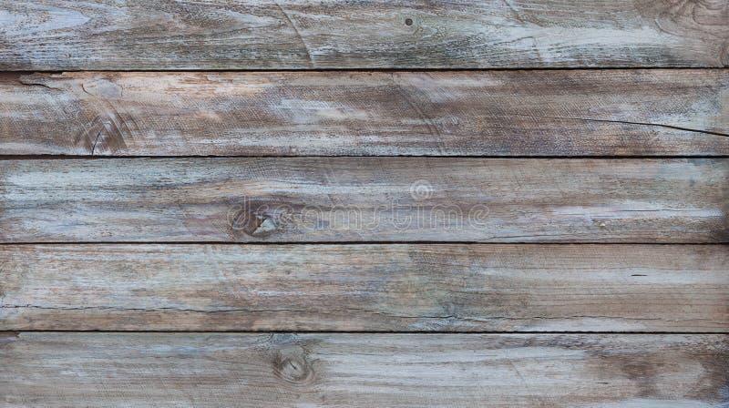 Bordi di legno invecchiati con pittura immagini stock libere da diritti