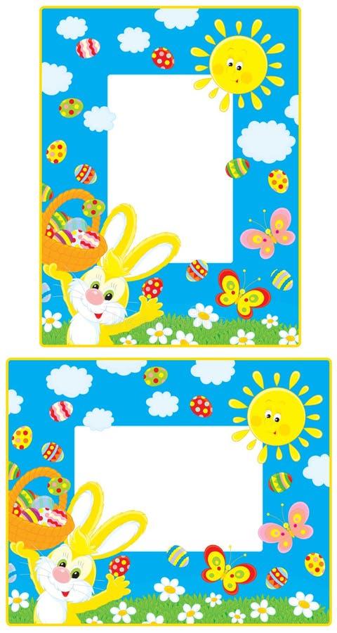 Bordi di Pasqua royalty illustrazione gratis