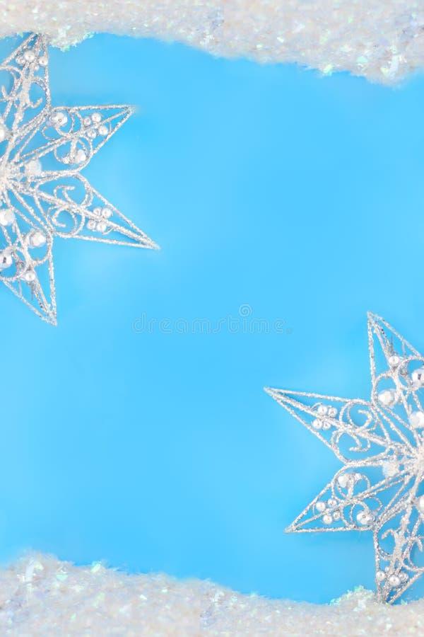 Bordi Sparkly della stella fotografia stock libera da diritti