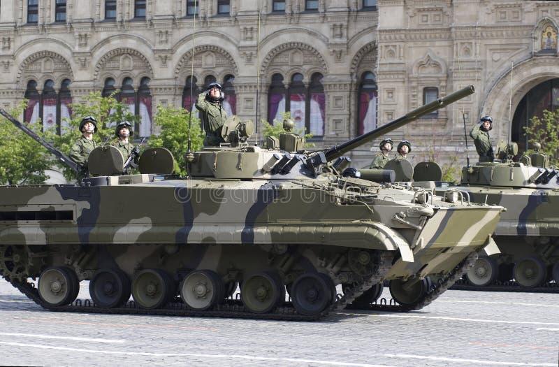 Bordinfanterie-Kampffahrzeug BMD-4 lizenzfreie stockfotografie