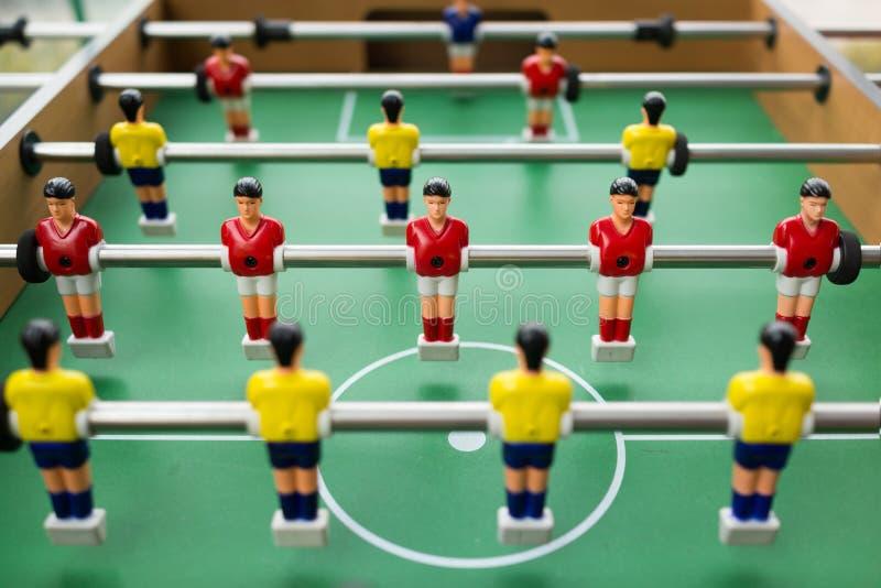 Bordlägga fotboll arkivfoto