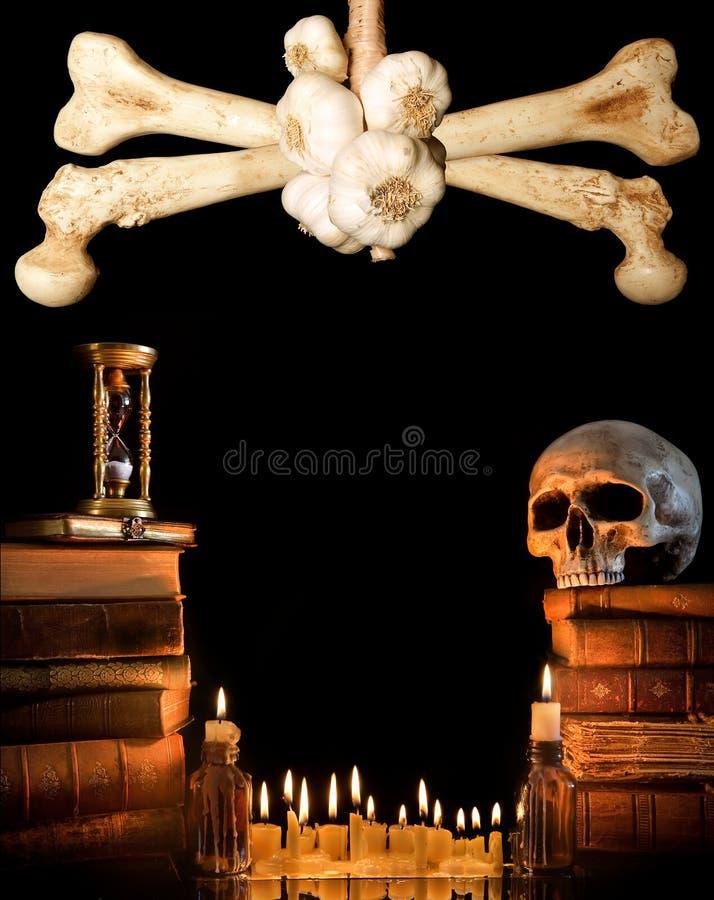 Bordo 3 di Halloween immagini stock