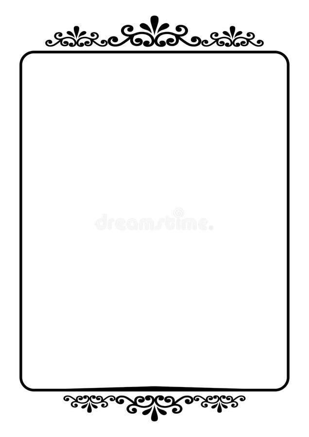 Bordo illustrazione vettoriale