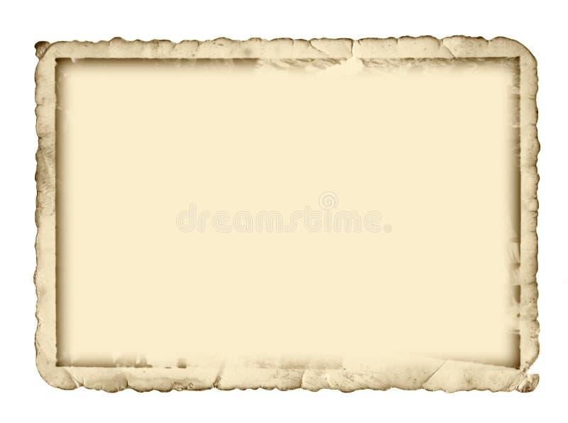 Bordo antico della foto immagini stock