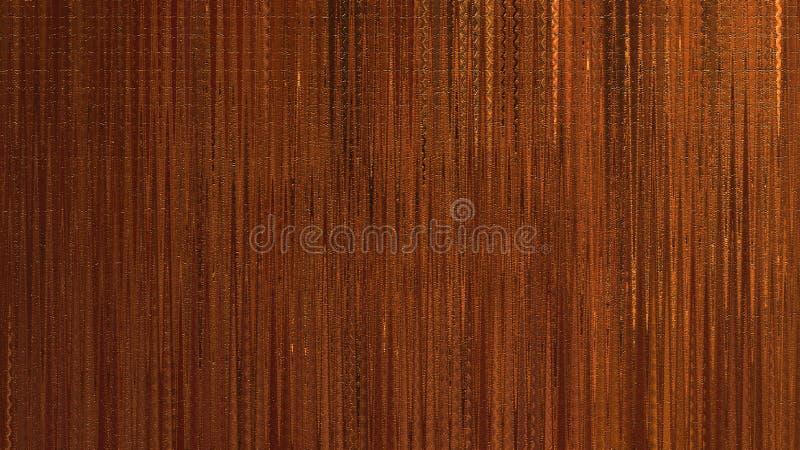 Bordo colorato d'annata con i colpi dorati Arte del primo piano Strato di legno di struttura immagini stock