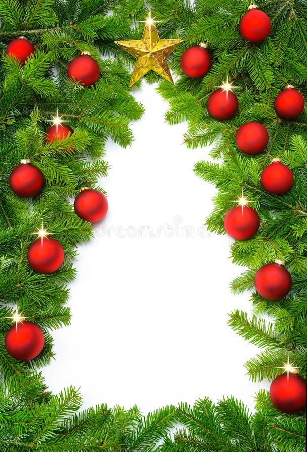Bordo creativo dell'albero di Natale immagini stock