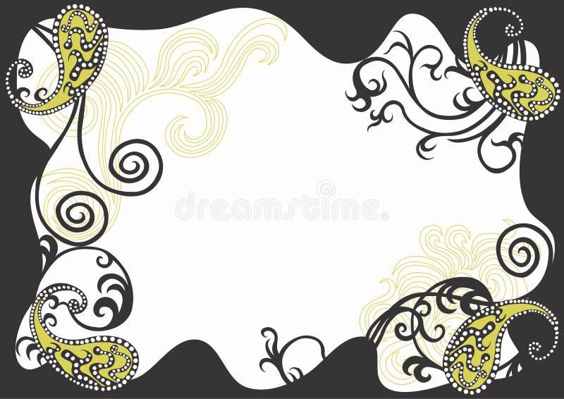 Bordo decorativo illustrazione vettoriale