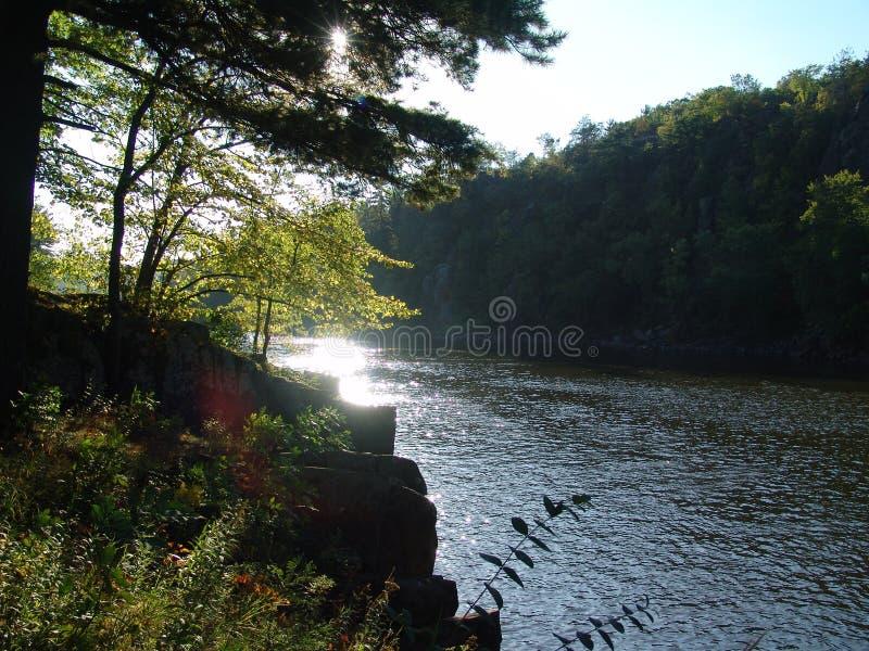 Download Bordo dei fiumi immagine stock. Immagine di maestoso, scenico - 218137