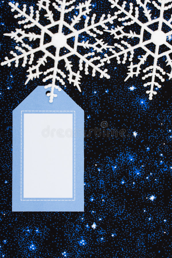Bordo del fiocco di neve illustrazione di stock
