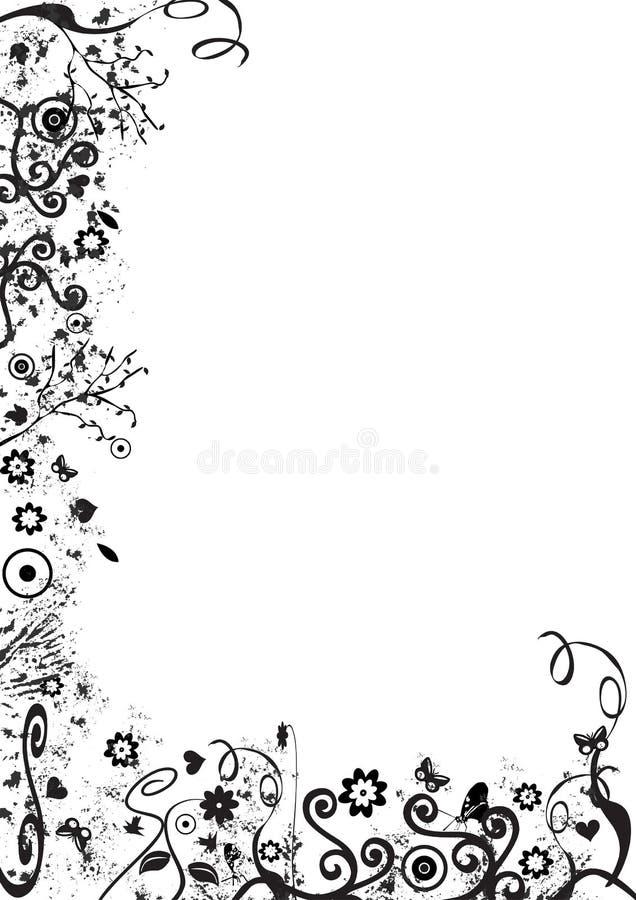 Bordo del fogliame royalty illustrazione gratis