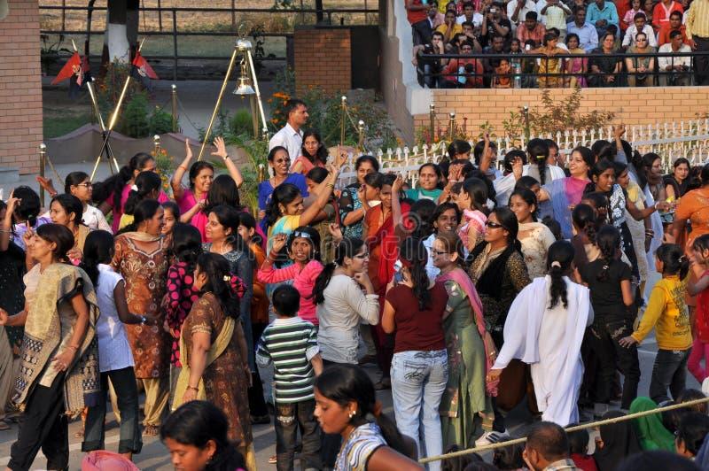 bordo del Indo-pakistan fotografie stock